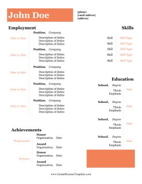 Resumes and over Letters With Samples